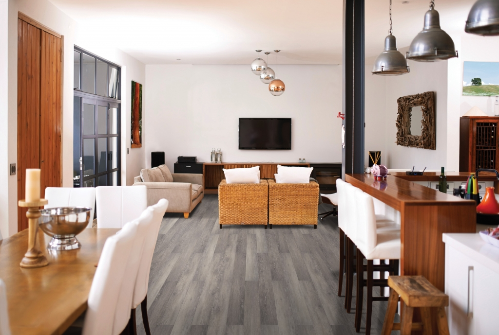 Living Area with Beach House Everwood Premier Flooring