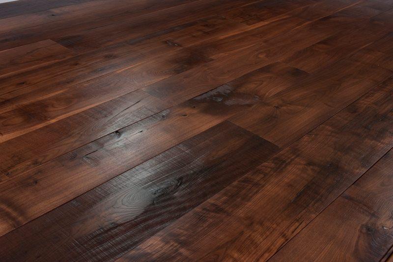 Stunning Walnut Floors For A Colorado Home, Walnut Wide Plank Flooring