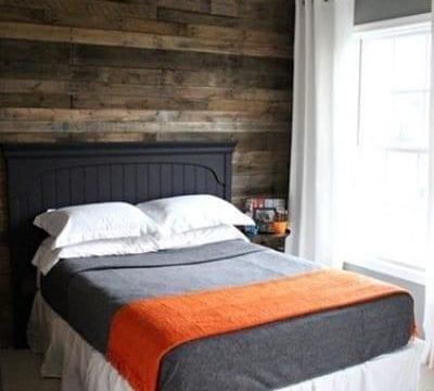 Wood Flooring on Accent Walls