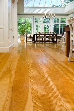 Birch hardwood flooring from Carlisle Wide Plank Floors