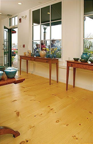 Pine flooring from Carlisle Wide Plank Floors