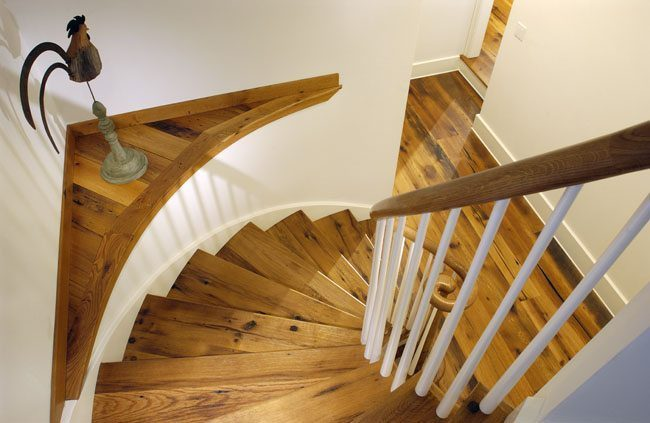 Reclaimed Wood Floors and Stair Treads from Carlisle Wide Plank Floors
