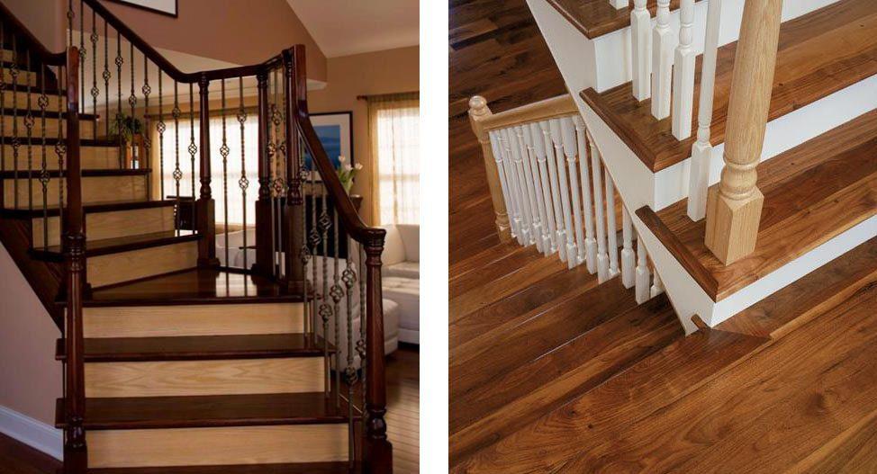 Custom Hardwood Floors, How To Do Hardwood Flooring On Stairs