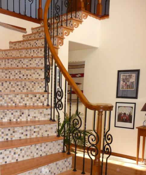 20 Fancy Painted Stair Runners Ideas: Design Ideas For Stairs To Match Your Custom Hardwood Floors