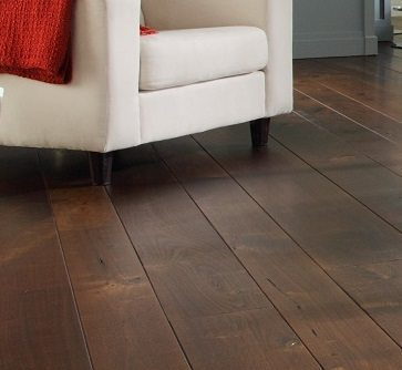 Dark Wood Floor for Oriental Interiors from Carlisle Wide Plank Floors