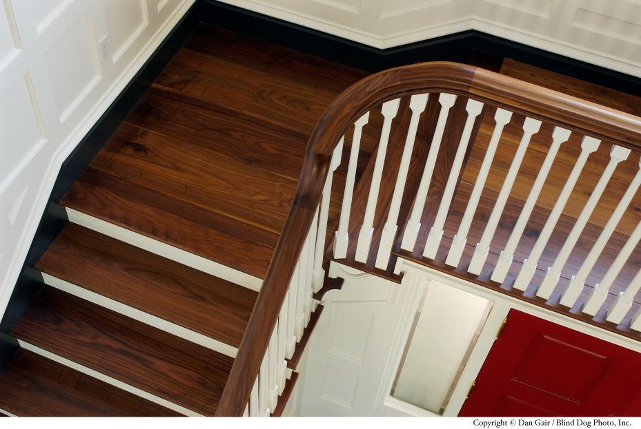 Dark Wood Flooring and Hardwood Floors from Carlisle Wide Plank Floors.