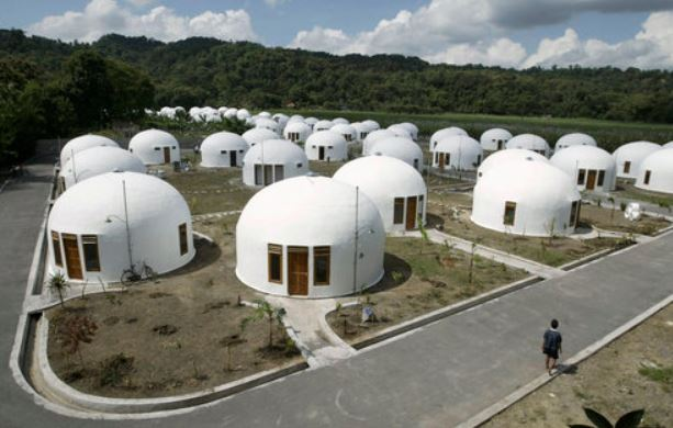 Dome Shaped Homes on the Carlisle Wide Plank Floors Blog