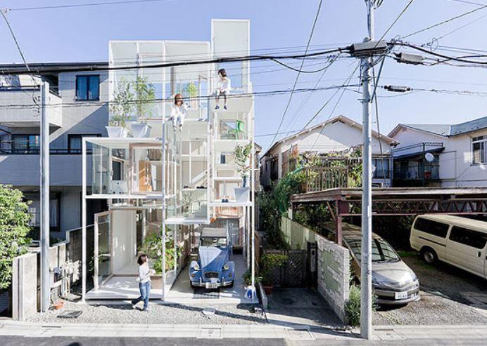 Transparant House Japan on the Carlisle Wide Plank Floors Blog