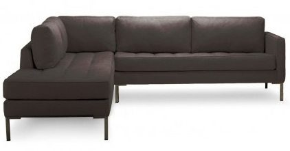 BluDot Paaramouth Sectional Sofa on the Carlisle Wide Plank Floors Blog
