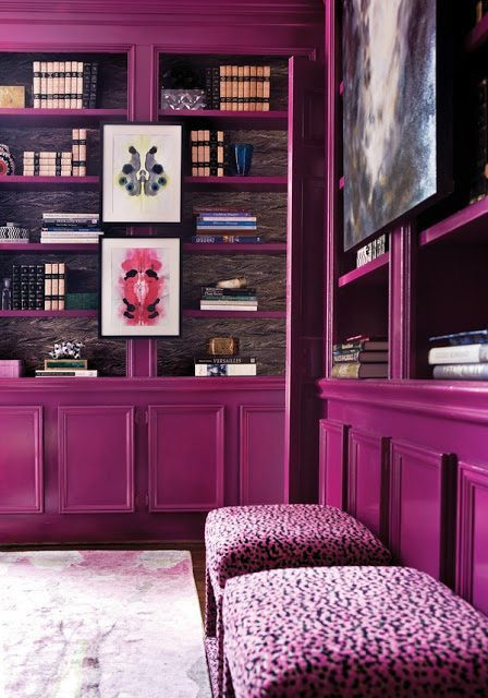 Radiant Orchid Cabinetry on the Carlisle Wide Plank Floors Blog