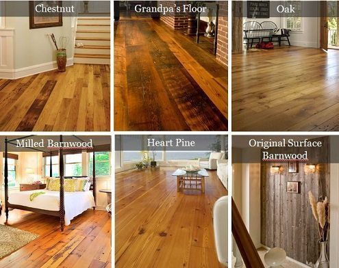 Reclaimed Wood Flooring from Carlisle Wide Plank Floors
