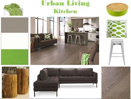 Urban Living in this Contemporary Kitchen with Ash Flooring Carlisle Wide Plank Floors Blog