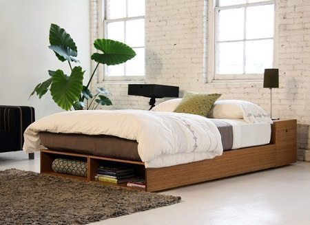 Viesso Buden Bed on Carlisle Wide Plank Floors Blog