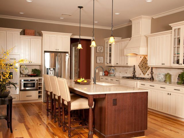 Clean Kitchens and Wood Flooring for Scandinavian Style on Carlisle Wide Plank Floors