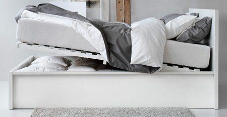 Ikea Malm Storage Bed on Carlisle Wide Plank Floors Blog