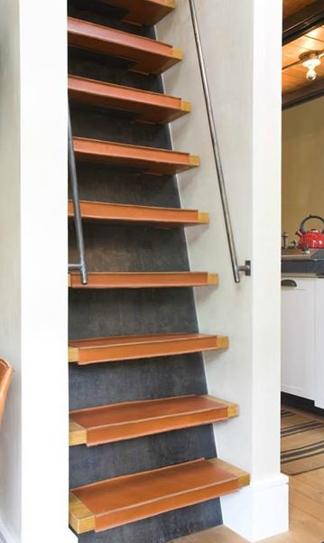 Ladder stairs from Studio Frank Telluride on Carlisle Wide Plank Floors Blog