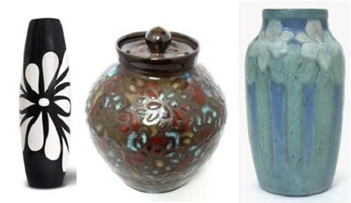 Floral Pottery for Spring Decor on Carlisle Wide Plank Floors Blog