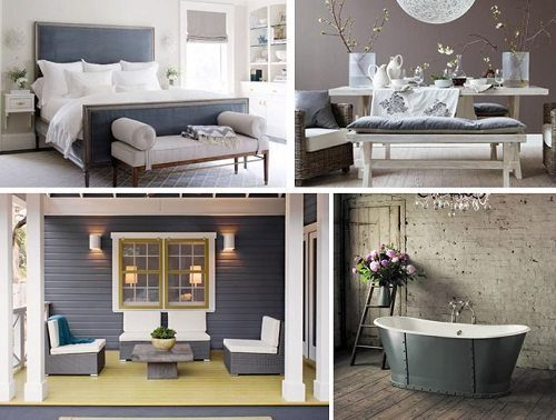Pantone Paloma Interiors from Carlisle Wide Plank Floors Blog