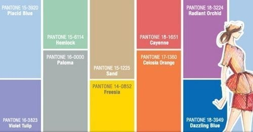 A Colorful Equilibrium for your Interior with Pantone Spring Colors