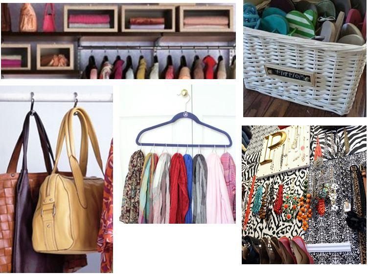 Closet Storage Ideas from Pinterest on Carlisle Wide Plank Floors Blog