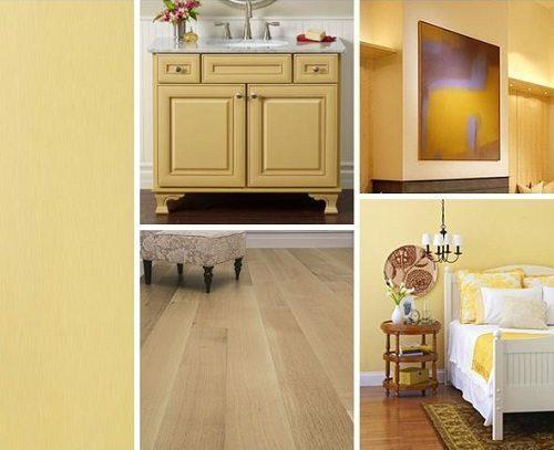 Buttercream Interior Decor Ideas from Carlisle Wide Plank Floors Blog
