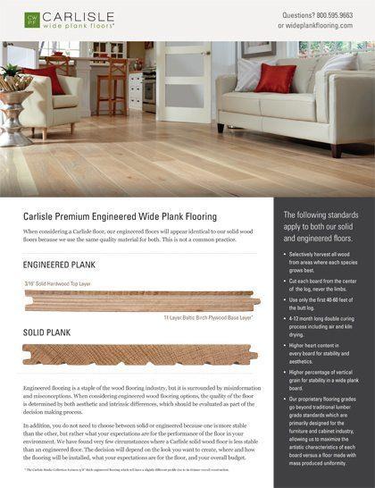 Engineered Wood flooring from Carlisle Wide Plank Floors