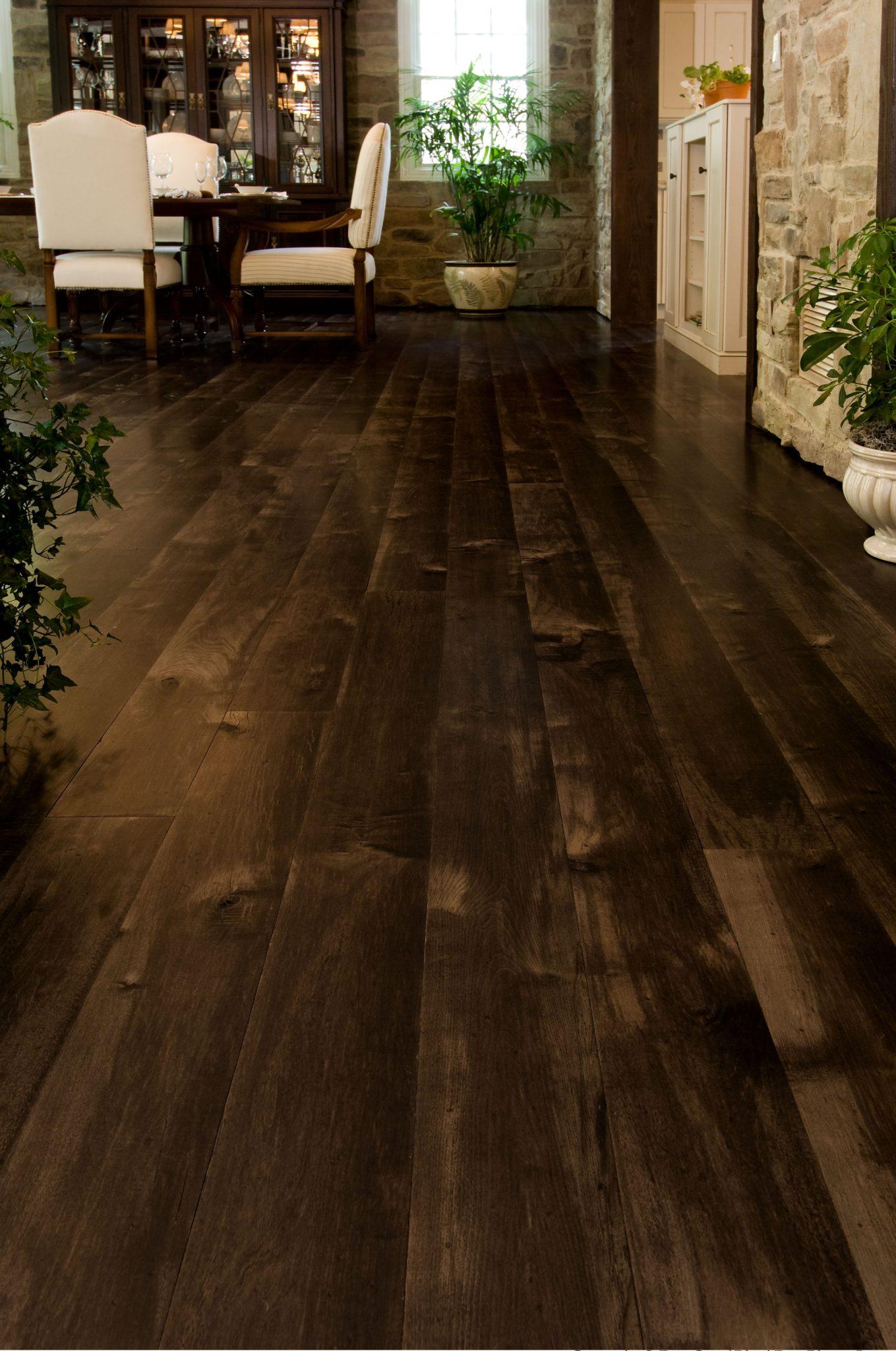 Dark Maple Floors Carlisle Wide Plank