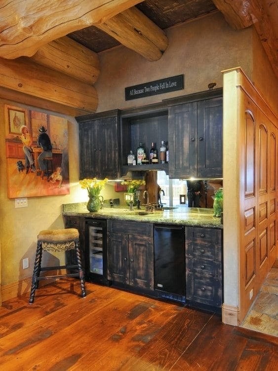 Design tips to give your wood floor a little character for Give the floor