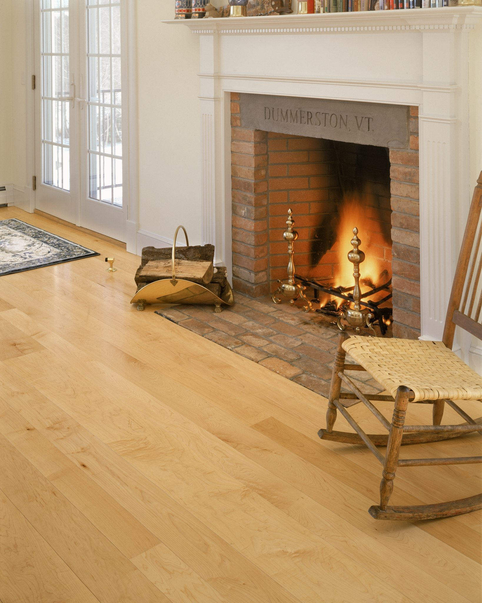 Maple Hardwood Flooring Carlisle Wide