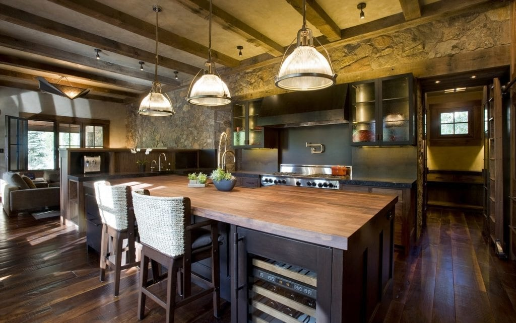 Popular Cabinet  Wood Flooring Combinations For Your Kitchen - Kitchen cabinets and flooring combinations